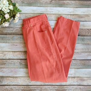 Escada Sport Orange High Waisted Jeans